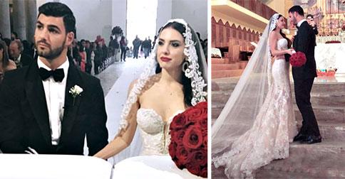 Clarissa Marchese e Federico Gregucci, nozze favolose con un mare