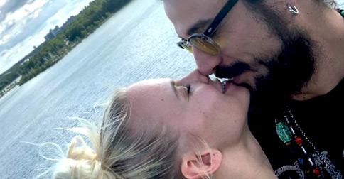 Pablo Daniel Osvaldo e Veera Kinnunen sono una coppia: la foto
