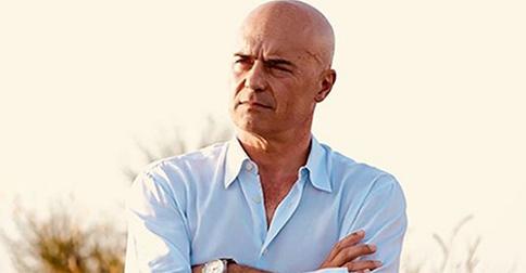 Luca Zingaretti addolorato per la morte di Andrea Camilleri