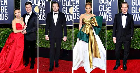 Golden Globes 2020: sfilata di stelle sul red carpet, foto
