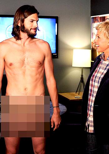 xxx ashton kutcher nudo