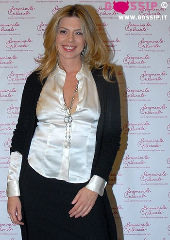 """Benedicta Boccoli: """"Da giovane ho rischiato l'anoressia"""" Foto Vita da ..."""