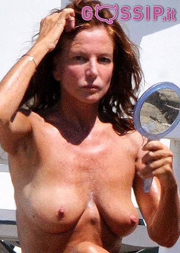 giuliana de sio topless da dieci foto vita da vip   foto