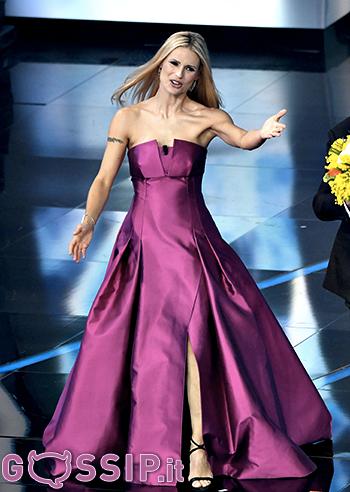 Michelle Hunziker regina di questo Festival di Sanremo ...