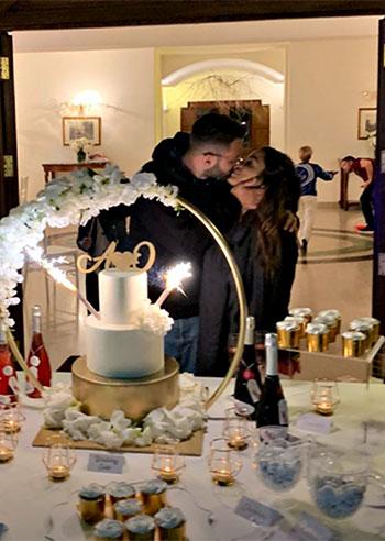 Alessia Macari e Oliver Kragl, il matrimonio dura due giorni, seconda festa di nozze per la Ciociara