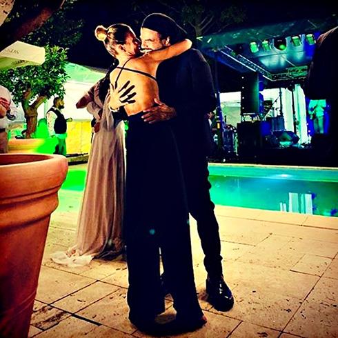 Francesco Renga esce allo scoperto sui social: prima foto con la fidanzata Diana Poloni