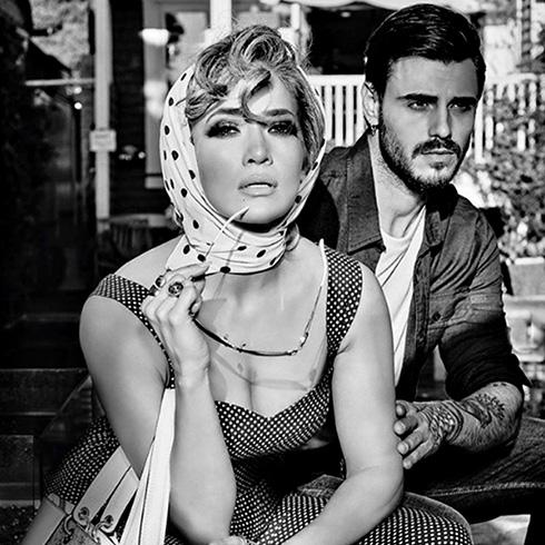 Francesco Monte insieme a Jennifer Lopez: la foto