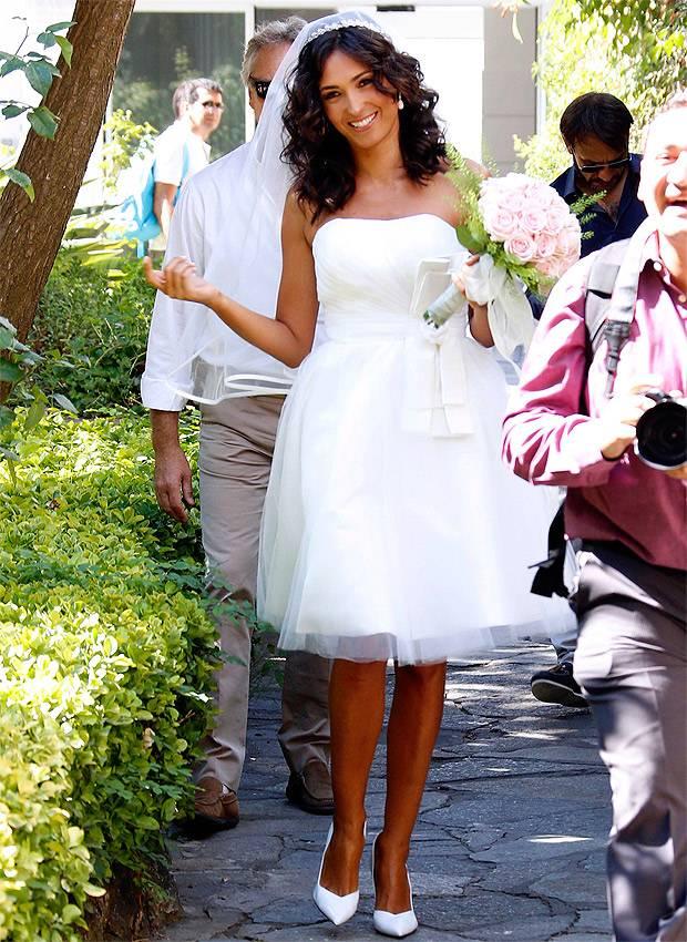 Caterina Balivo: Il vestito da sposa lho comprato su Internet e all...