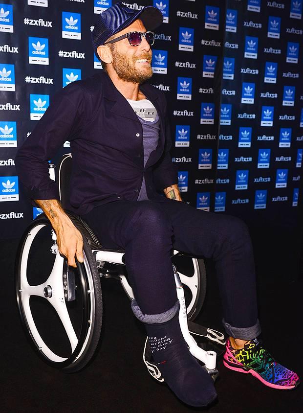 Lapo Elkann, fashion in sedia a rotelle - Gossip.it