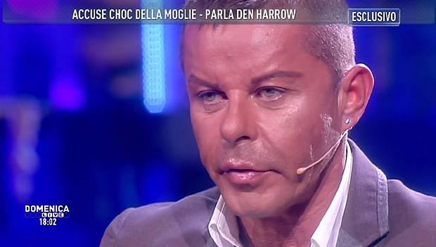 Den Harrow, ospite di Barbara d'Urso a 'Domenica Live', si è difeso dalle accuse della sua ex, Annalisa Orlandi - 1413198465_1-1