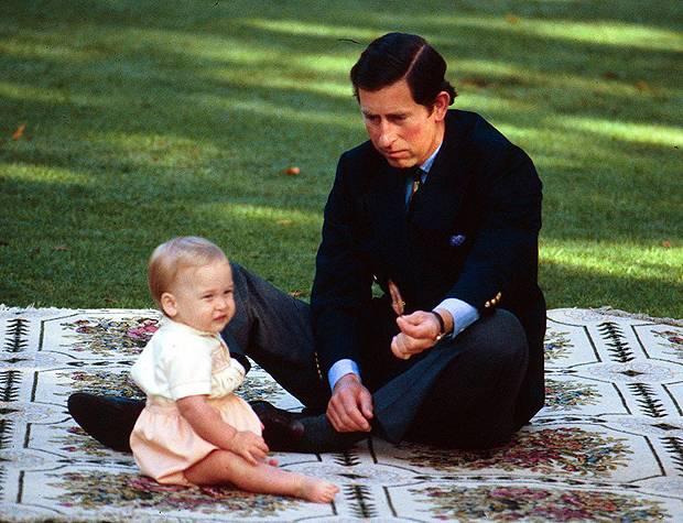 Il Principino George Figlio Del Principe William E Kate