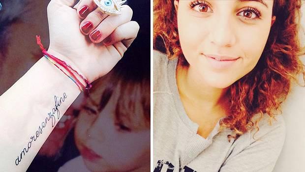 Sara daniele un tattoo che testimonia il suo amore senza for Amore senza fine