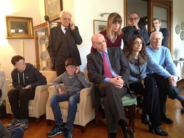 Vitadavips sergio mattarella segue la sua elezione in for Diretta da montecitorio