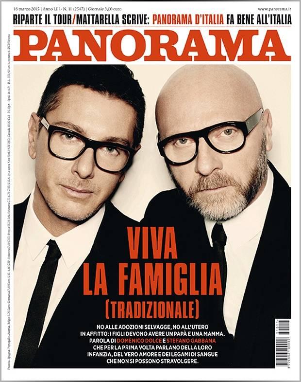 3d0125a725 L'intervista a Dolce e Gabbana: 'Il nostro era amore e sarà sempre ...