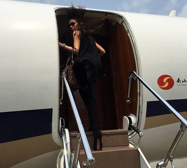 Jet Privato Beyonce : Victoria beckham sul jet privato via i tacchi meglio