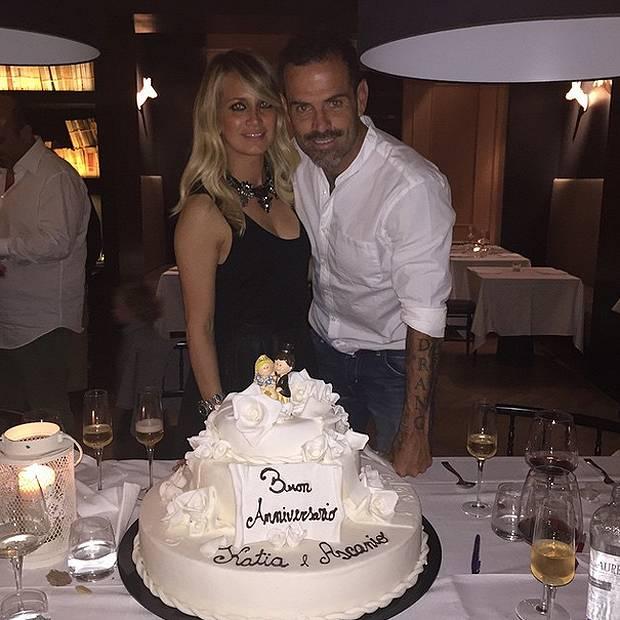 Top Katia Pedrotti e Ascanio Pacelli hanno festeggiato i 10 anni di  HB82