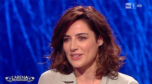 Luisa Ranieri ieri ospite a L'Arena da Massimo Giletti ha presentato la miniserie in cui interpreta Luisa Spagnoli