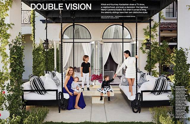 khloé e kourtney kadashian aprono le porte delle loro case da ... - Arredamento Casa Kardashian