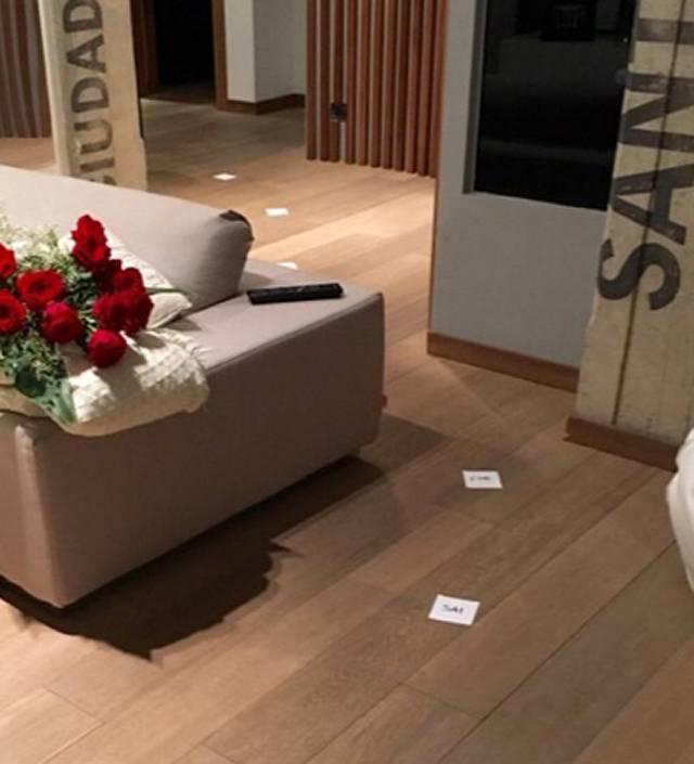 Eleonora pedron messaggi d 39 amore misteriosi sul pavimento for Disegni del mazzo sul basamento degli scioperi