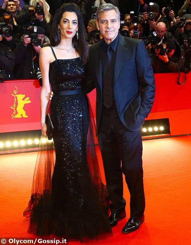 George Clooney e Amal Alamuddin elegantissimi alla ...