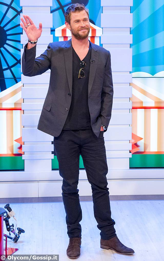 Chris hemsworth ospite a good morning britain il look for Ospite inglese
