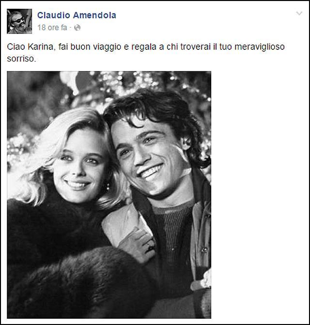 Karina huff morta a soli 55 anni l 39 attrice di 39 sapore for La colazione ha il tuo sorriso