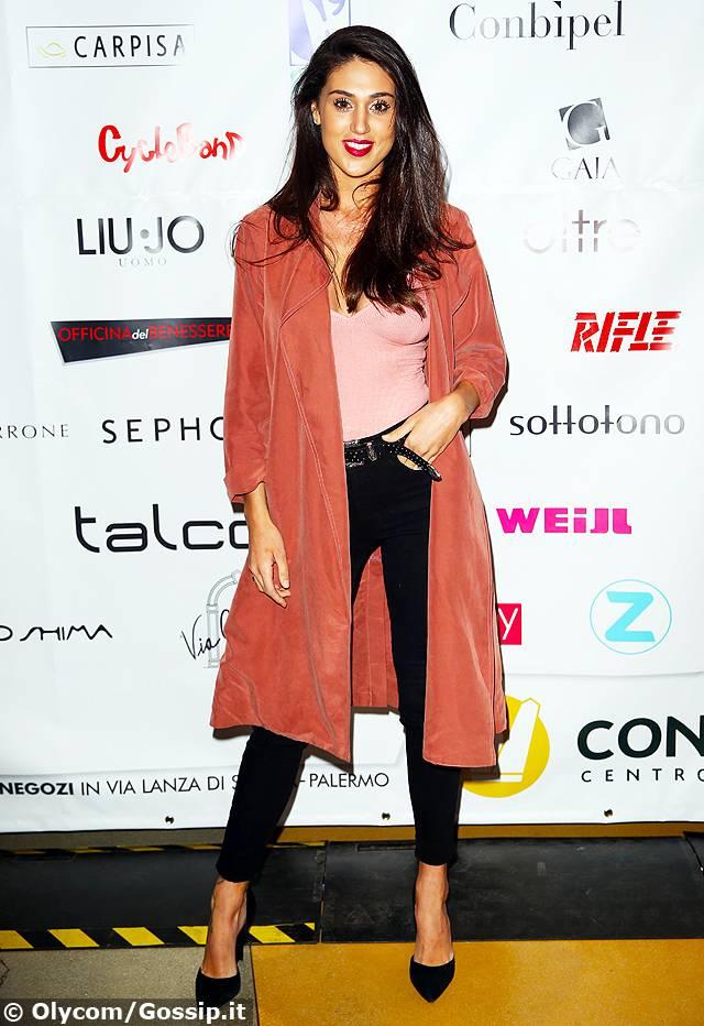 huge discount 53020 70a18 Cecilia Rodriguez debutta come presentatrice a Palermo al ...