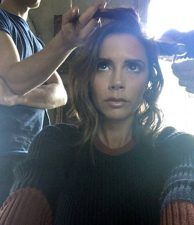 Victoria beckham capelli lunghi