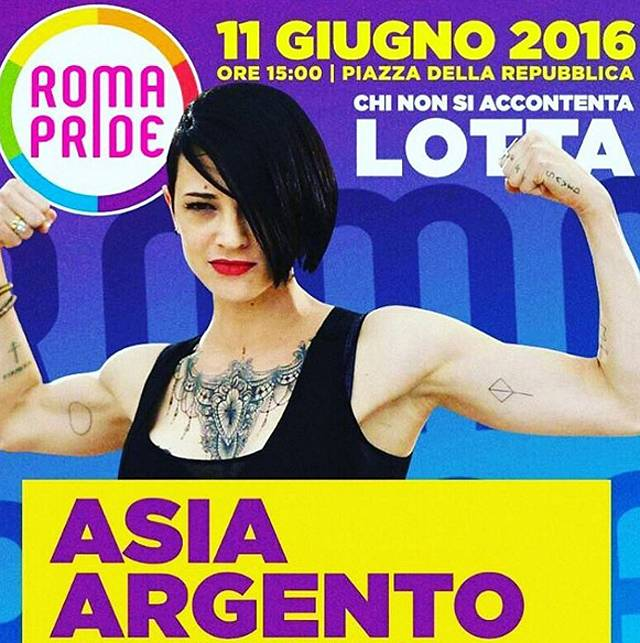 Asia Argento shock: