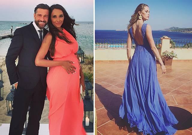 Outfit Matrimonio Spiaggia : Melissa satta tanti invitati super vip alle sue nozze