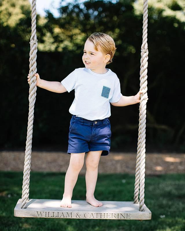 Principino George compie 3 anni. William e Kate organizzano festa