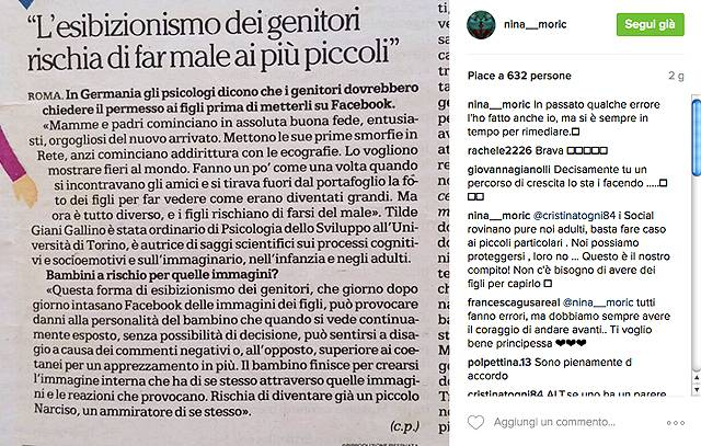 Nina Moric contro Fabrizio Corona: basta pubblicare foto di nostro figlio