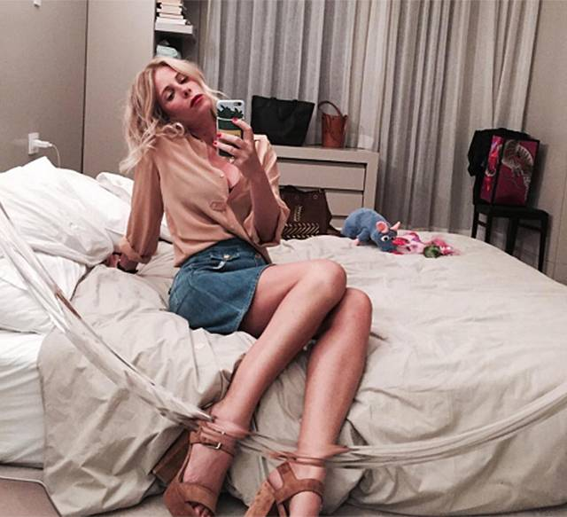Alessia Marcuzzi in gran forma a 40 anni, lancia un appello