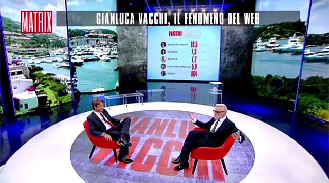 Cabina Armadio Gianluca Vacchi : Gianluca vacchi racconta a matrix di aver visto la morte in faccia
