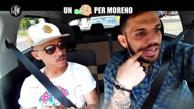 Moreno in lacrime a Le Iene Show: brutto scherzo per il rapper
