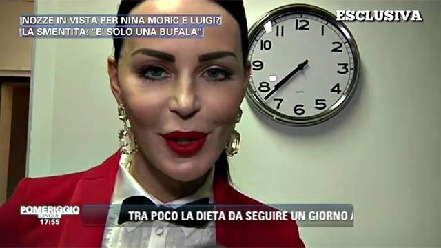 Nina Moric: 'Sembro una ventenne ma mi sento una sessantenne'
