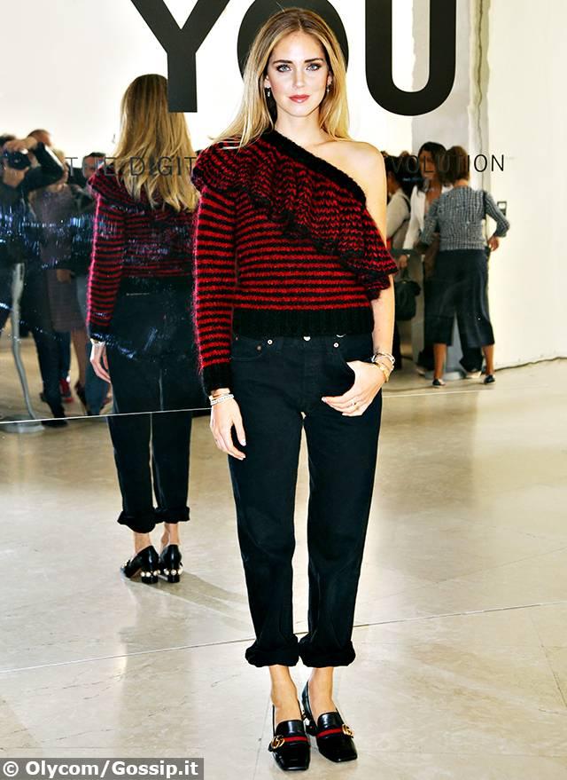 Popolare Chiara Ferragni è sempre più mondana a Milano, la fashion blogger  PZ36