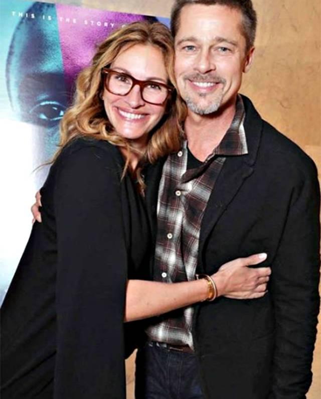 Brad Pitt torna in pubblico dopo il divorzio