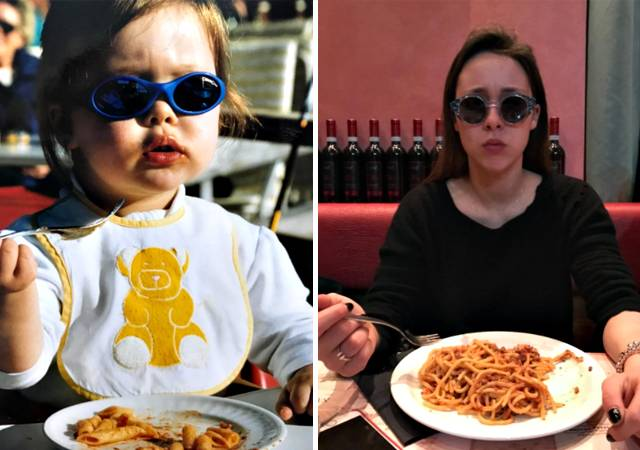 Michelle Hunziker ed Eros Ramazzotti: dediche social per i vente#39;anni di Aurora