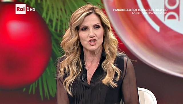 Heather Parisi replica a Lorella Cuccarini…con un dito medio