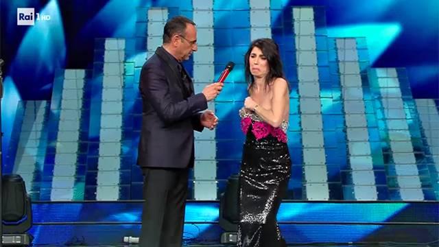 Giorgia a Sanremo 2017 incanta l'Ariston