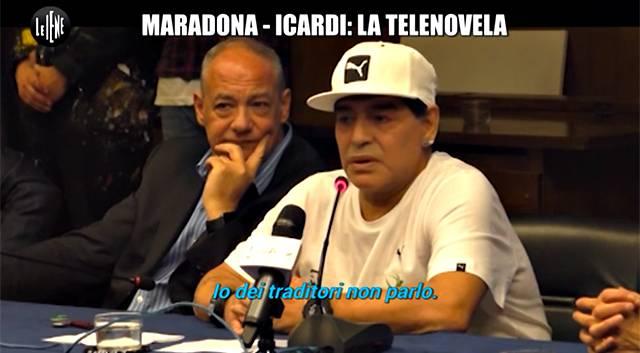 Maradona ancora contro Icardi: