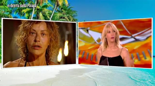 Isola dei Famosi: Eva Grimaldi scoppia in lacrime