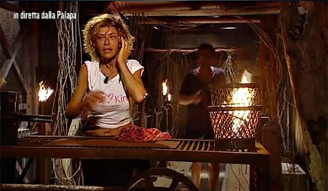 Imma Battaglia all'Isola Dei Famosi con Eva Grimaldi