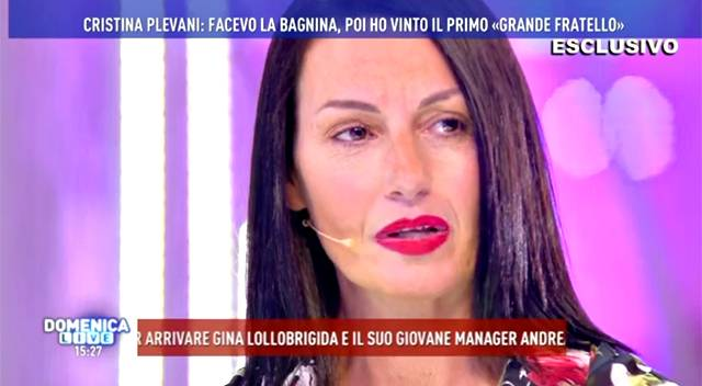 Domenica Live: è scontro a distanza fra Cristina Plevani e Milo Coretti