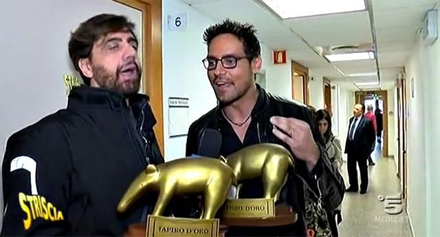Tapiro d'Oro a Gabriel Garko: stavolta l'attore lo accetta