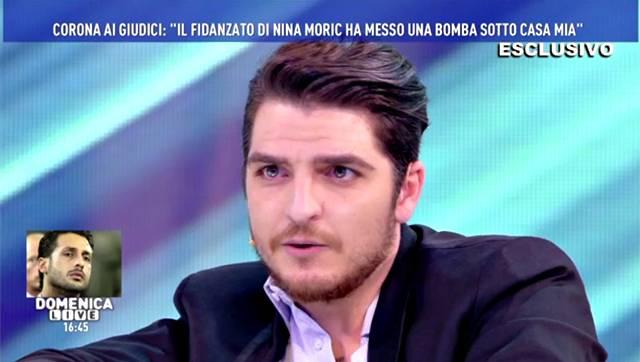 Nina Moric parla di Fabrizio Corona a Domenica Live