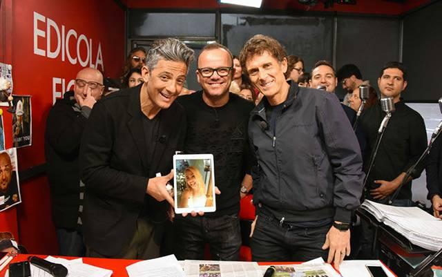 Francesco Totti, gli auguri social a sua moglie Ilary Blasi