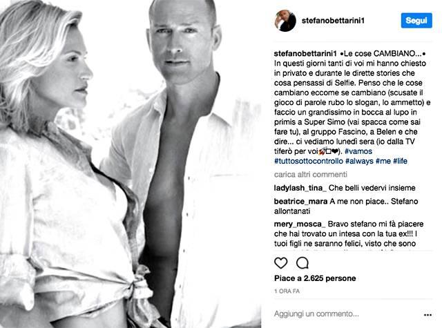 Stefano Bettarini ed Elenoire Casalegno: non solo amici?