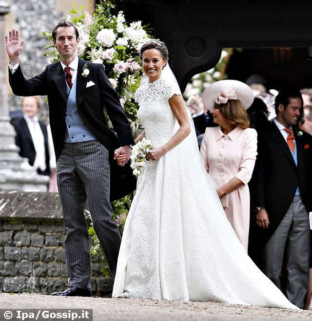 Matrimonio Pippa Middleton : Pippa middleton le nozze con james matthews cerimonia da